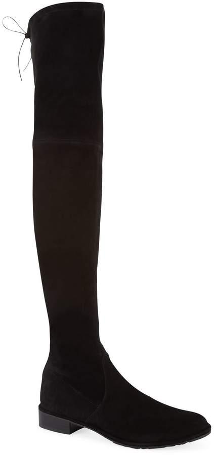 Stuart Weitzman Suede Lowland Thigh High Boots