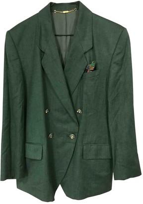 Basler Green Cotton Jacket for Women