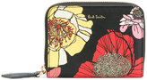 Paul Smith floral print zip purse - women - Calf Leather - One Size