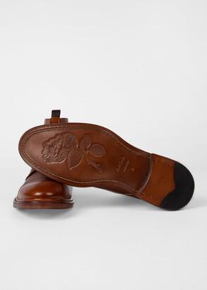 Paul Smith Men's Tan Calf Leather 'Jarman' Boots