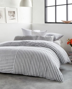 DKNY Clipped Squared Full/Queen Comforter Mini Set Bedding