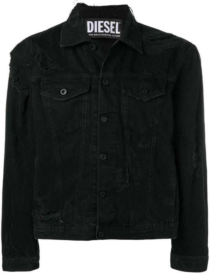 Diesel distressed denim jacket