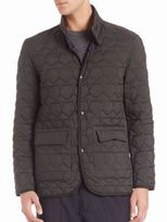 Z Zegna Reversible Quilted Jacket