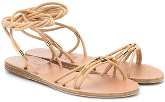 Ancient Greek Sandals Persida leather sandals