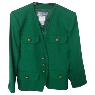Saint Laurent Green Wool Jackets