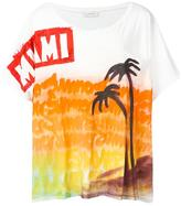 Faith Connexion hand-painted beach T-shirt - men - Cotton - XS