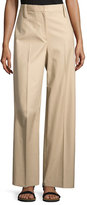 The Row Werto Wide-Leg Pants, Beige