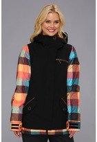Roxy Rizzo Jacket (Anthracite) - Apparel