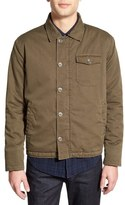Velvet by Graham & Spencer 'Rebel' Trim Fit Fleece Lined Shirt Jacket