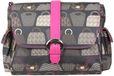 Kalencom Lady Fuchsia Matte Coated Diaper Bag