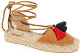 Soludos Suede Tassel Espadrille Platform Sandal