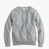 J.Crew Boys' cotton-cashmere raglan sweatshirt