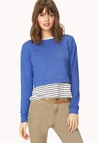 Forever 21 Cool Girl Cropped Sweatshirt