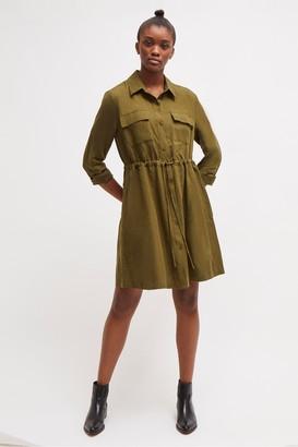 French Connection Briella Lyocell Shirt Dress