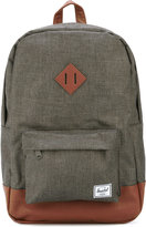Herschel 'Heritage' backpack - men - Leather/Polyester/Polyurethane - One Size