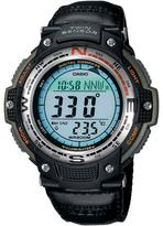 Casio Men's Green Sports Gear Digital Compass Watch with Green Nylon Band