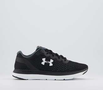 Under Armour Charged Impulse Trainers Black White White
