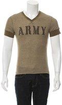 Dolce & Gabbana Short Sleeve Army T-Shirt