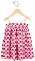 Makie Girls' Sleeveless Printed Dress