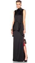 Lanvin Long Viscose Dress