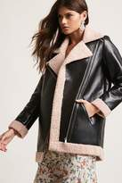 Forever 21 Goldie London Faux Leather Jacket
