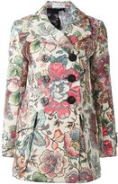Faith Connexion floral print double breasted coat