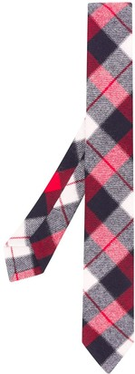 Thom Browne Check Print Tie