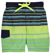 """Smiths American Smith's American Little Boys' """"Lined Stripes"""" Boardshorts"""