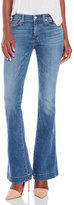 7 For All Mankind Slim Flared Trousers