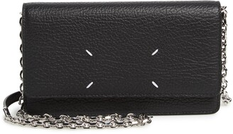 Maison Margiela Glam Slam Leather Wallet on a Chain