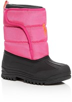 Ralph Lauren Girls' Hamilten II EZ Cold Weather Boots - Toddler, Little Kid