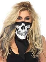 Leg Avenue Skull Bandana, Black/White