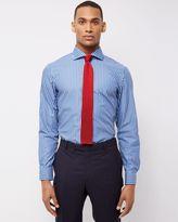 Jaeger Two-Colour Stripe Slim Shirt