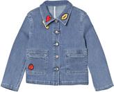 Sonia Rykiel Blue Patch Denim Jacket