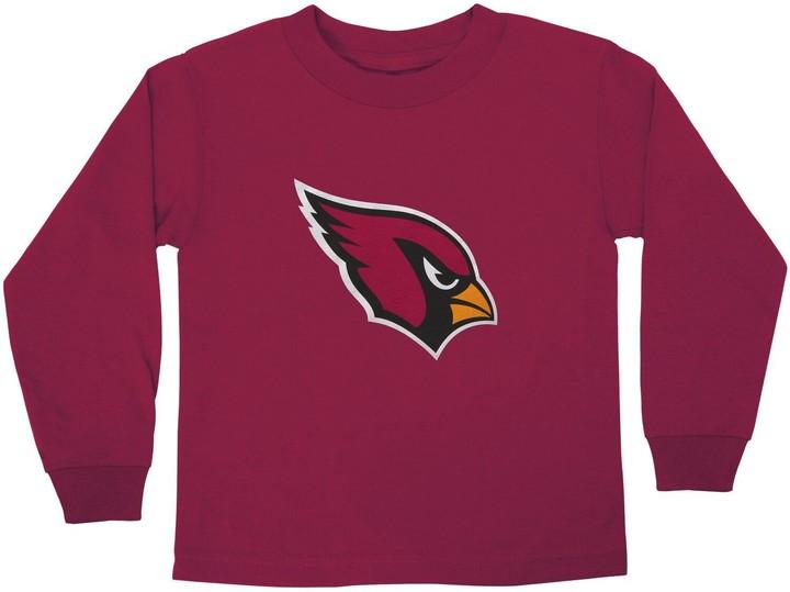 reputable site d4757 b42b2 Outerstuff Arizona Cardinals Preschool Team Logo Long Sleeve T-Shirt -  Cardinal