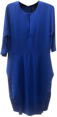 Zero Maria Cornejo Zero+maria Cornejo Blue Silk Dress for Women