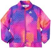 adidas Wild Card Wind Jacket (Toddler/Kid) - Purple Print - 3T