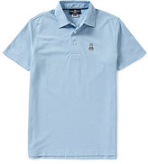 Psycho Bunny Ambleside Short-Sleeve Solid Polo Shirt