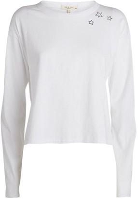 Rag & Bone Star Print Long-Sleeved T-Shirt