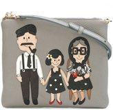 Dolce & Gabbana Family patch crossbody bag - women - Calf Leather - One Size