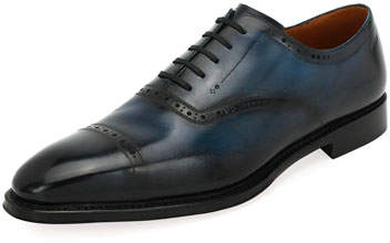 Bally Skimor Leather Lace-Up Oxford