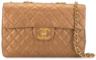 Chanel Pre Owned 1992 CC jumbo shoulder bag