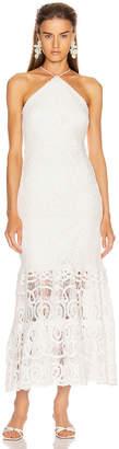 Alexis Yvonna Dress in White | FWRD