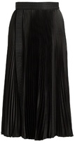 Christopher Kane Stud-embellished pleated midi skirt