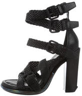 Alexander Wang Leather Multistrap Sandals