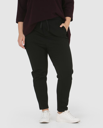 Advocado Plus Drop Crotch Drawstring Pants
