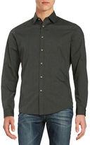 Black Brown 1826 Muted Stripe Sportshirt
