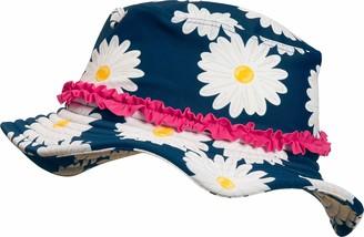 Playshoes Girl's UV-Schutz Sonnenhut Margerite Hat