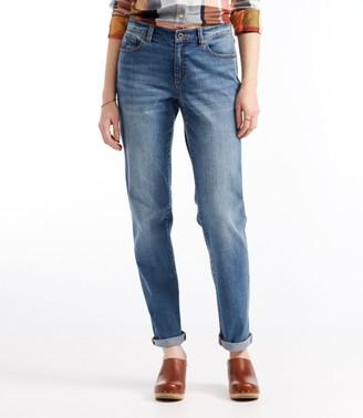 L.L. Bean Women's Signature Denim Boyfriend Jeans