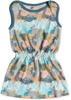 Roxy Printed Cotton Dress, Toddler Girls